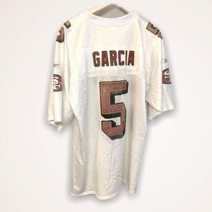 Reebok San Francisco 49ers Jeff Garcia #5 Jersey